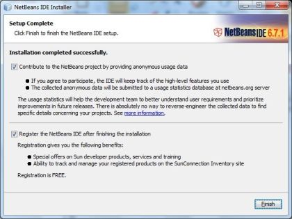 cara menginstal JDK dan Netbeans 6.7.1 di Windows